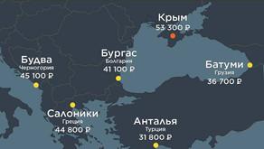 Места, где отдыхать дешевле, чем в Крыму