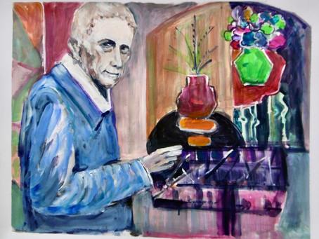 Cours  Peinture : G. Braque dans son atelier
