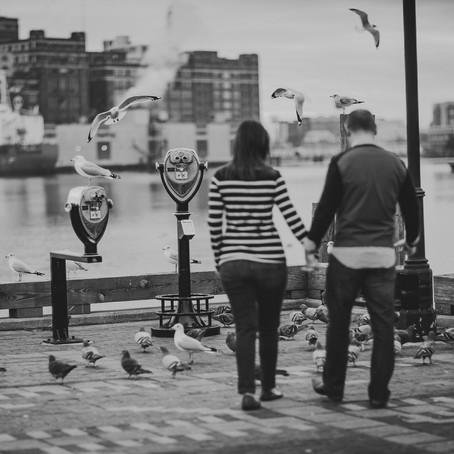 Elizabeth & Sam || Fells Point Engagement