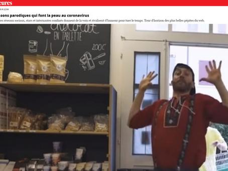 """""""Tu stoppes et tu galopes"""" dans les médias suisses et français"""