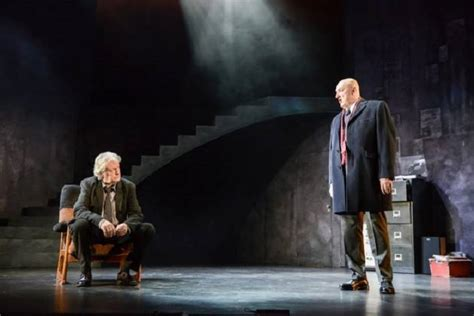 Charles Lawson (l) and John Stahl in Rebus, Long Shadows