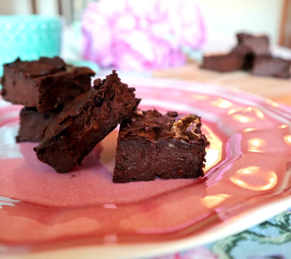 receita de brownie proteico
