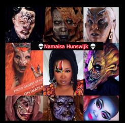 Meet Namaisa Hunswijk, The Makeup Artist Monster Girl