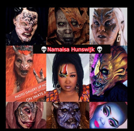 Meet Namaisa Hunswijk, The Makeup Artist Monster Girl