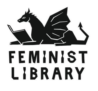 Feminist Library Dragon Logo