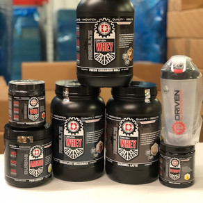 Driven Nutrition Coming Next Week!