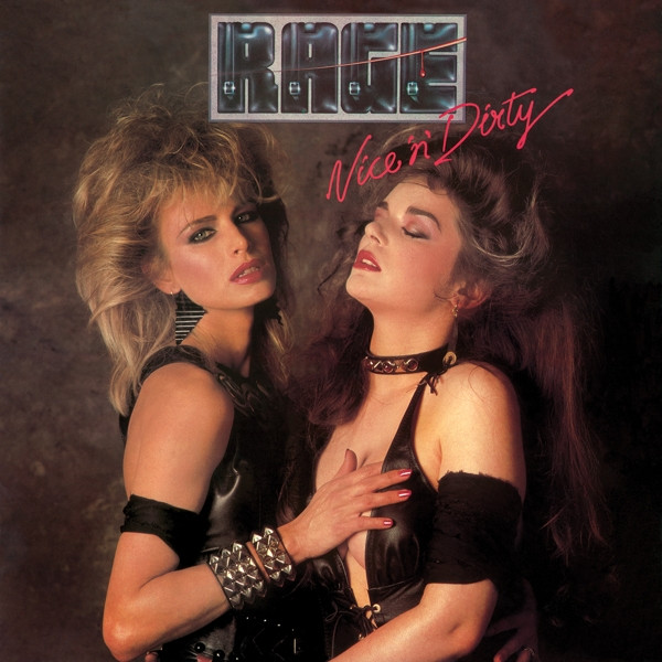 Rage Nice 'n' Dirty Album Cover for Crossfire Radio Review