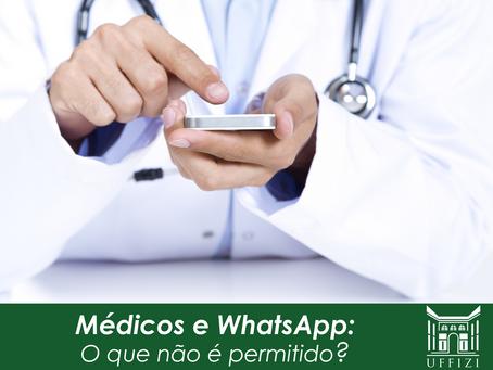 Médicos e WhatsApp: o que não é permitido?