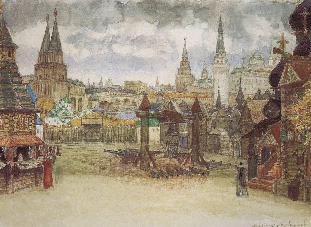 Стрелецкая слобода (1897 год)