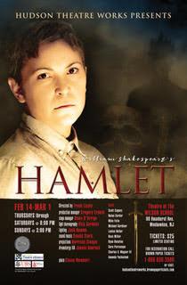 HAMLET at Hudson Theatre Works - 2/14-3/1