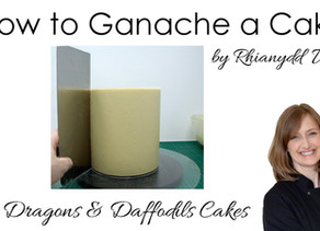 New Tutorial - How to ganache a cake