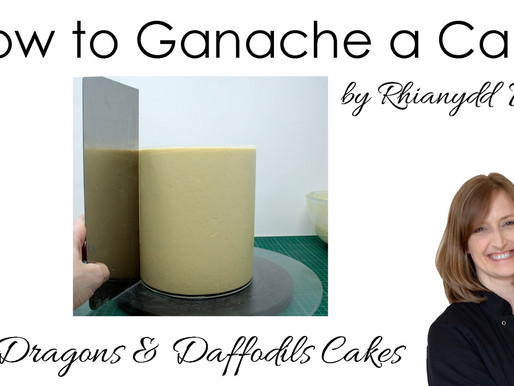 New Tutorial - How to ganache a cake