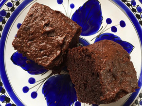 Healthier (but still scrumptious) chocolate brownies
