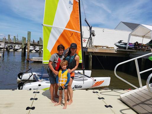 Sail Through Summer   Backyard Adventures at the Jersey Shore
