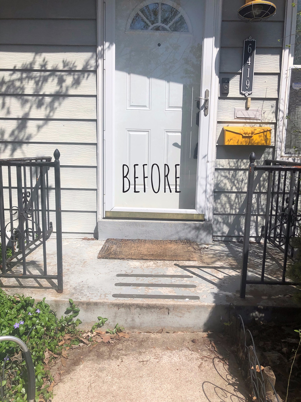 Home Staging Front Porch Makeover