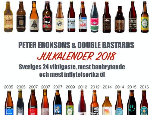 Peter Eronsons & Double Bastards Julkalender - En summering