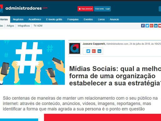 Mídias Sociais para organizações:
