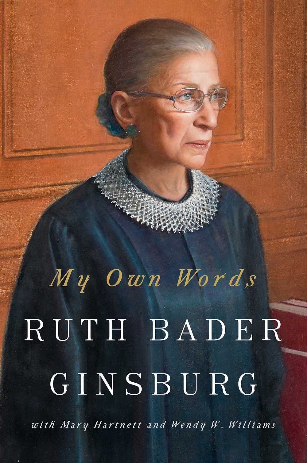My Own Words by Ruth Bader Ginsburg thebookslut book reviews the book slut