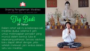 Menyembuhkan penyakit dengan Meditasi - Sharing oleh TRY BUDI