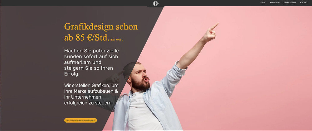 Webdesign Köln - Landingpage