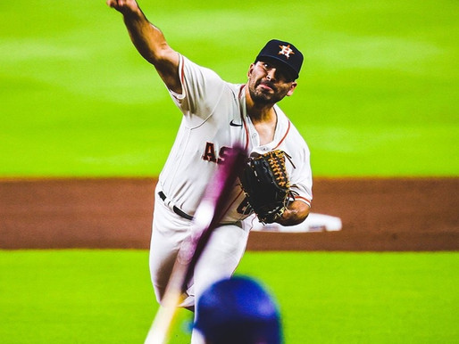 Astros open homestand with an outstanding pitching performance by Urquidy.