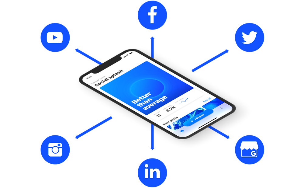 Connect multiple social media platforms with Hookle