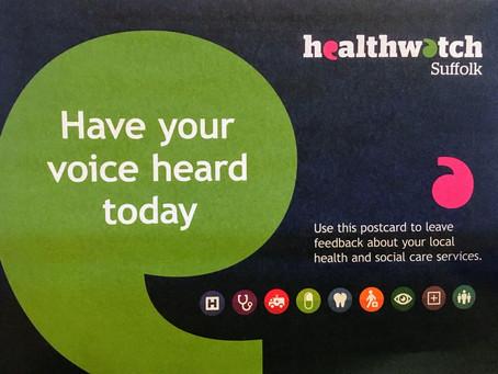 Healthwatch Suffolk