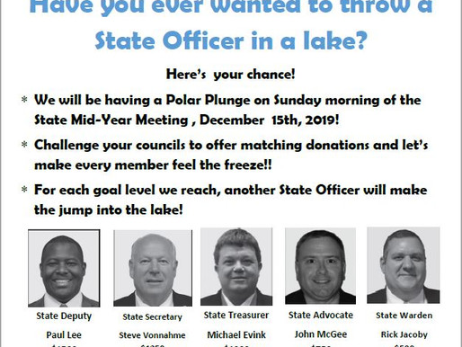 Want to throw a State Officer in the Lake??
