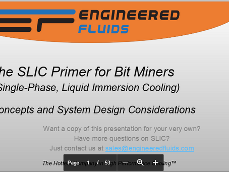 Check out our new SLIC Primer for Bit Miners!