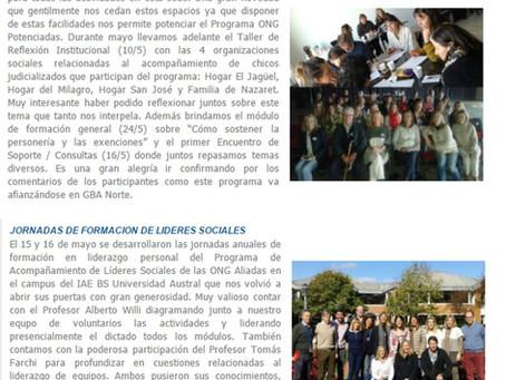 Boletín Novedades N° 84 - abr may 2017