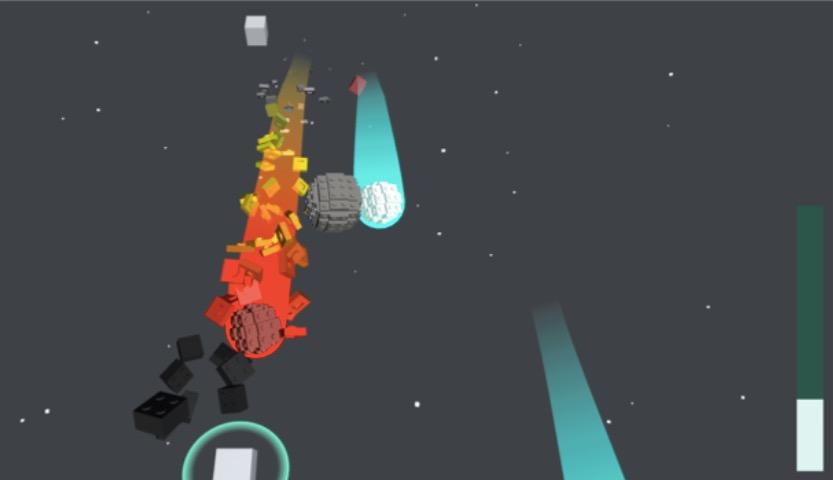 Gameplay - zaktualizowane modele asteroid