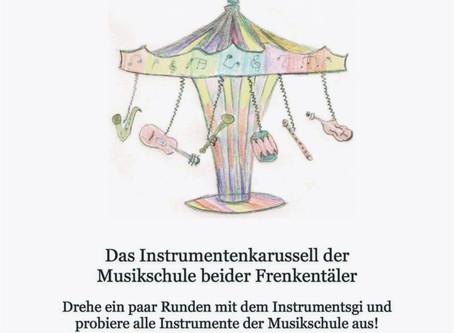 """""""Instrumentsgi"""" - das Instrumentenkarussell der Musikschule beider Frenkentäler"""