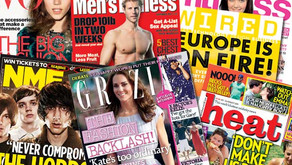 """What does """"in this issue"""" mean on the cover of a magazine?"""