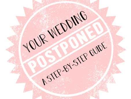 Postponing Your Wedding - A Step-by-Step Guide
