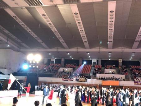 JBDFプロフェッショナルダンス選手権大会観戦😆