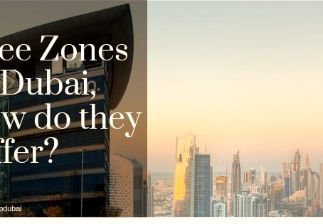 Free Zones in Dubai, how do they differ?