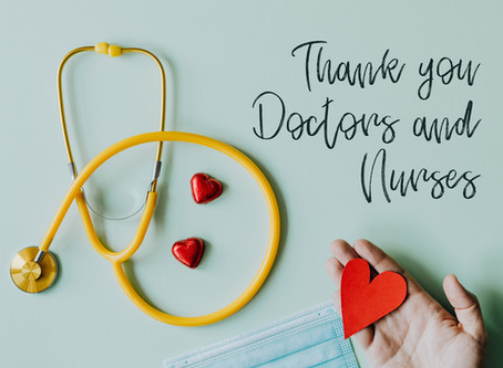 We'd Like To Thank Our Frontline Healthcare Workers With a 10% Discount