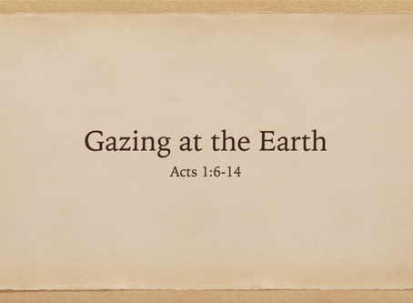 Gazing at the Earth (Video) - Jim Walters