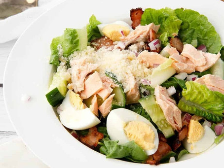 Grilled Caesar Salad cooked with Cooxy