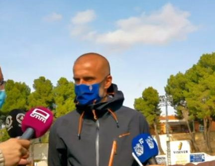 Manifestaciones de Edu Pérez tras el CP Villarrobledo 0 UD Socuéllamos 0