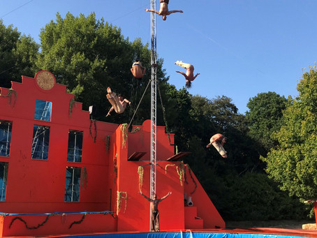 High Diving Fun, Almost Done!