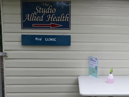 Flu Clinics - now open