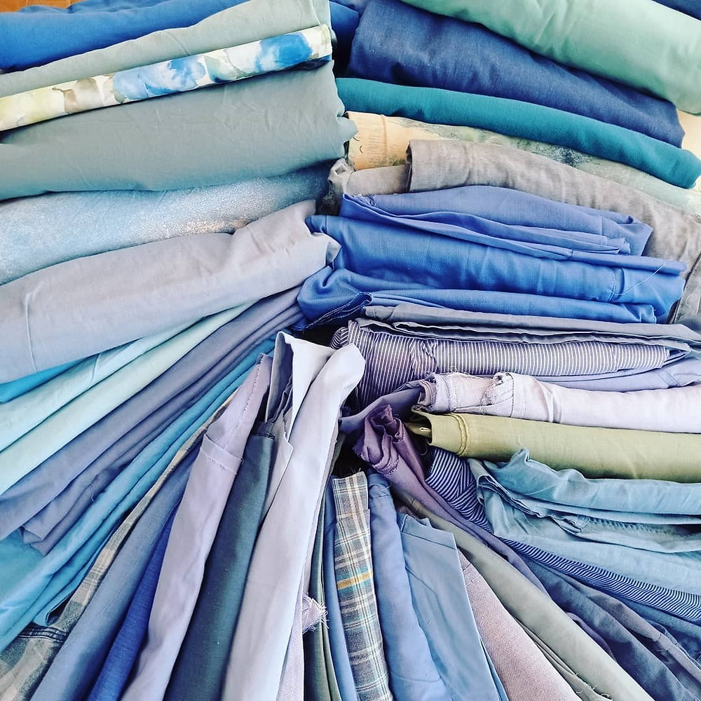 Vintage cotton shirts and sheets