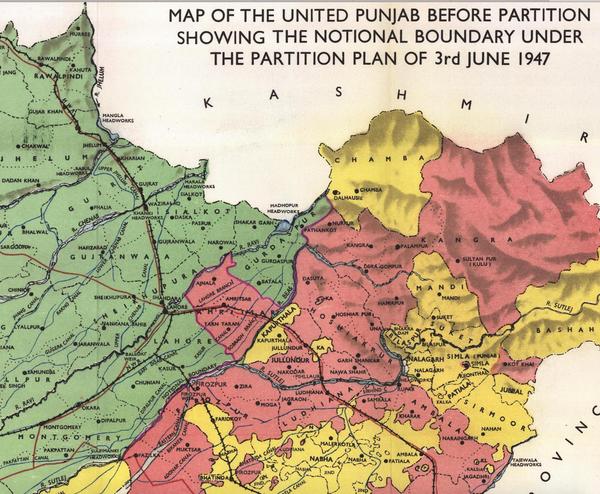 Geography & Demographics | Forum | punjabpartition