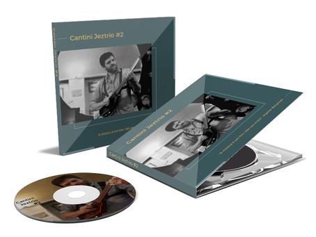Novo CD do Cantini Jeztrio a venda na Hotmart!