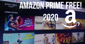 Get Amazon Prime Video for FREE! 2020