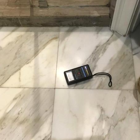 A Waterlogged Shower Case