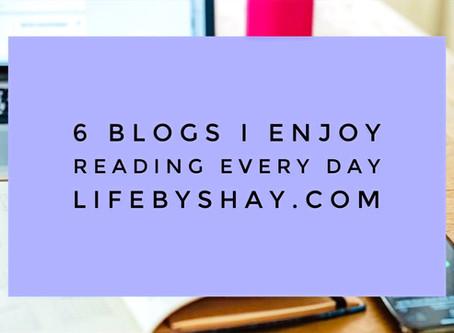 6 Blogs I Enjoy Reading Every Day