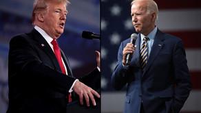 Data visualization of US 2020 President candidates tweets