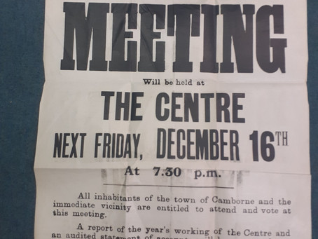 The very first Annual General Meeting